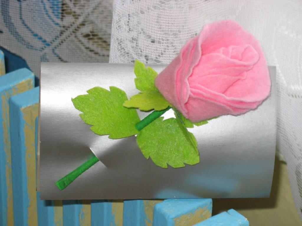 fleurs de serviettes en viscose photo