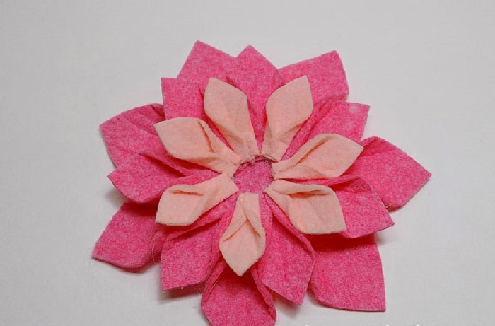 fleurs de serviettes en viscose