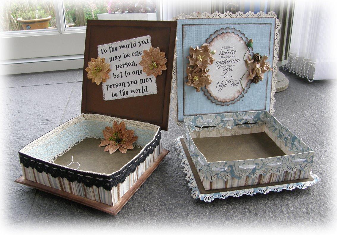 idées de boîte de décoration