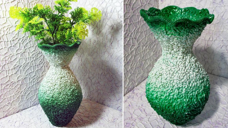 bouteille vase decor