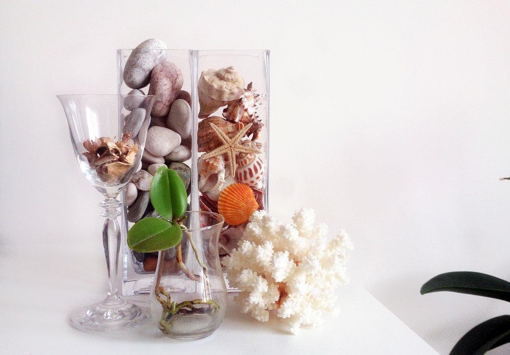 garniture vase décor