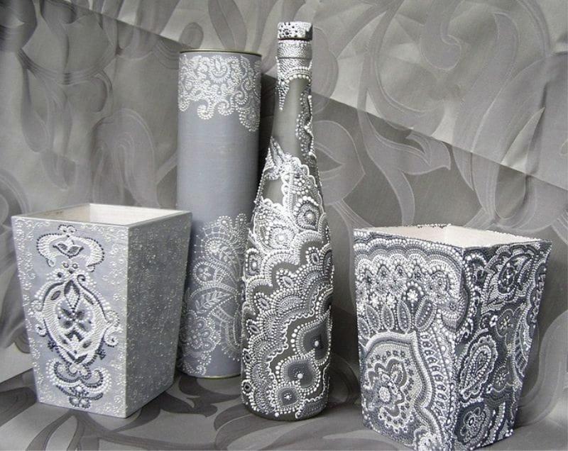 décor vase pique photo