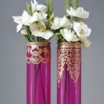 Décor de vase DIY design