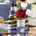 Vase décor DIY photo design