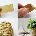 idées de décoration de vase bricolage