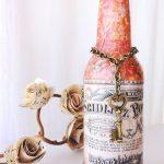 bouteilles de découpage faites-le vous-même