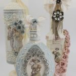 bouteilles de découpage faites-le vous-même photo design
