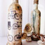 bouteilles de découpage faites-le vous-même photo idées