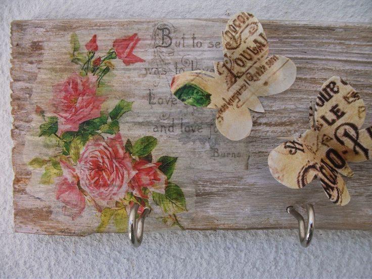 découpage sur bois faire-le soi-même décor