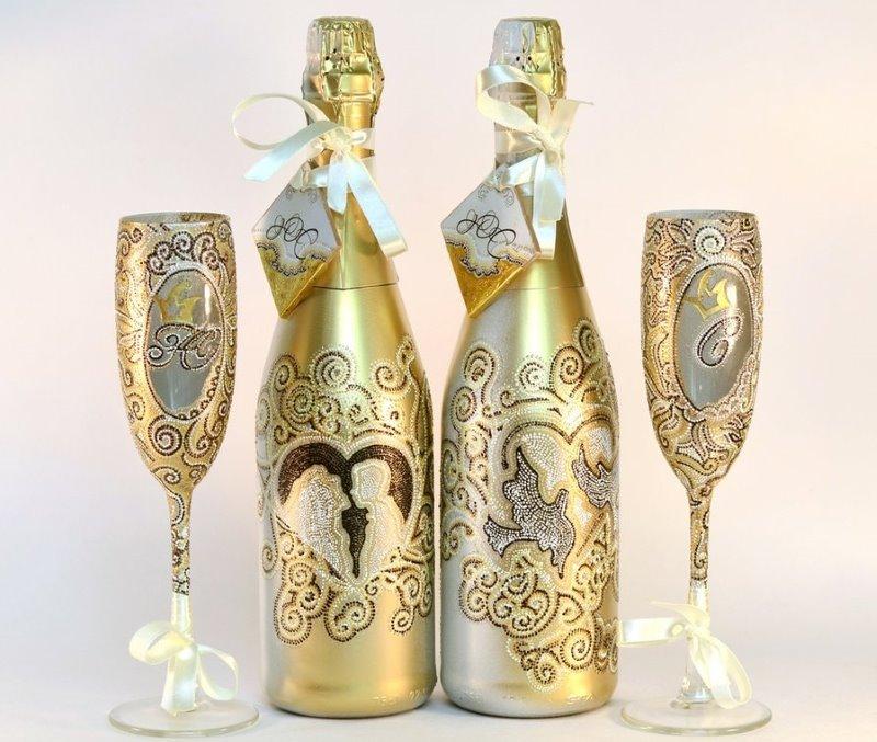 champagne de découpage