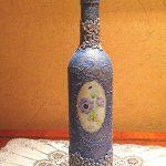 photo de conception de bouteilles de vin de découpage