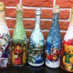 options de découpage des bouteilles de vin