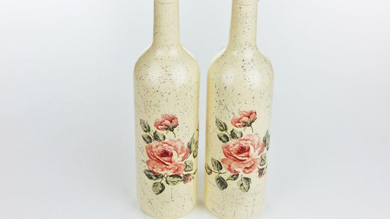bouteilles de découpage
