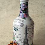 découpage des idées de bouteilles de vin options