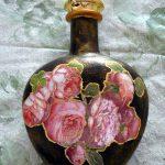 des bouteilles de vin de découpage faites-le vous-même des idées de décoration