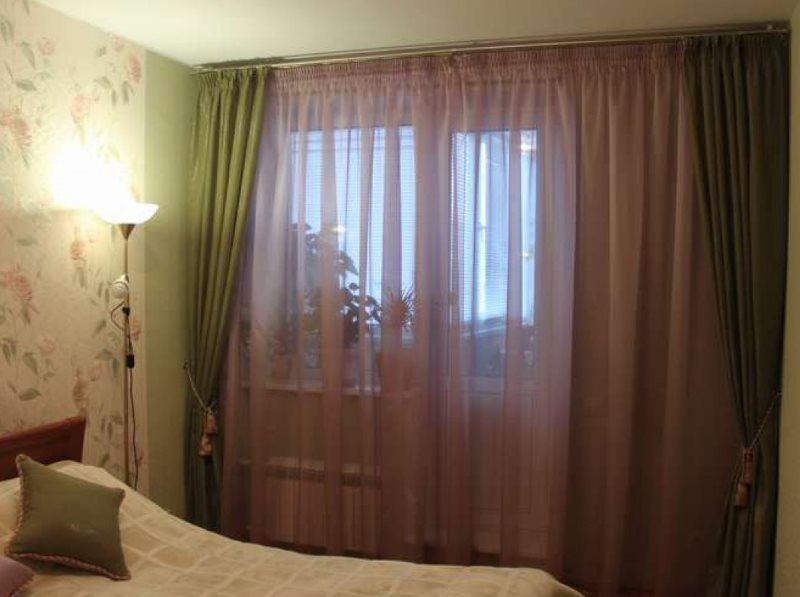 rideaux en tulle photo
