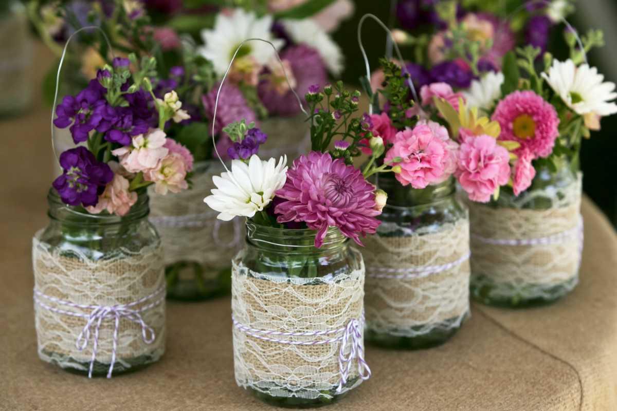 idées de décoration de vase