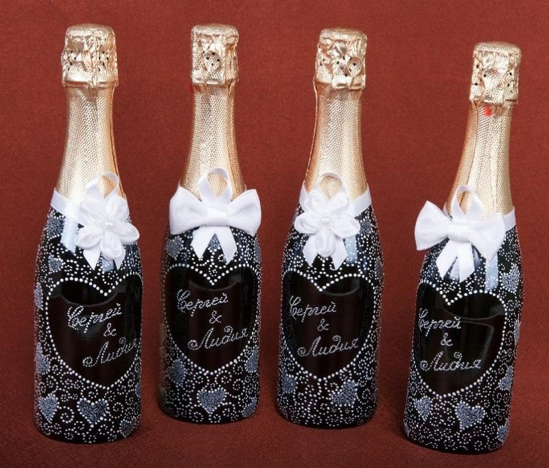 noms sur les bouteilles
