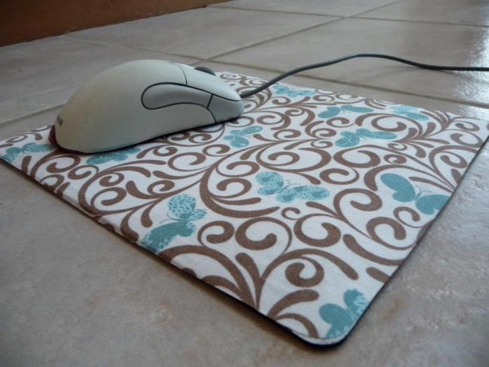 options de tapis de souris d'ordinateur