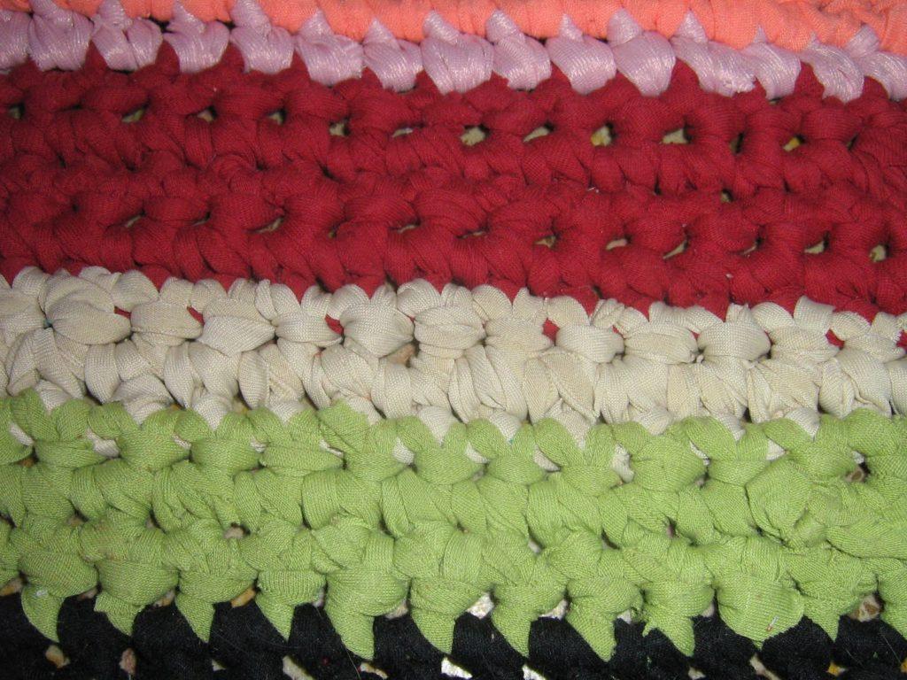tapis en macramé