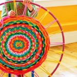 tapis faites-le vous-même à partir de vieilles décorations