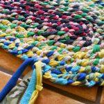 tapis faites-le vous-même de vieilles choses photo decor