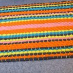 tapis de bricolage à partir de vieilles idées