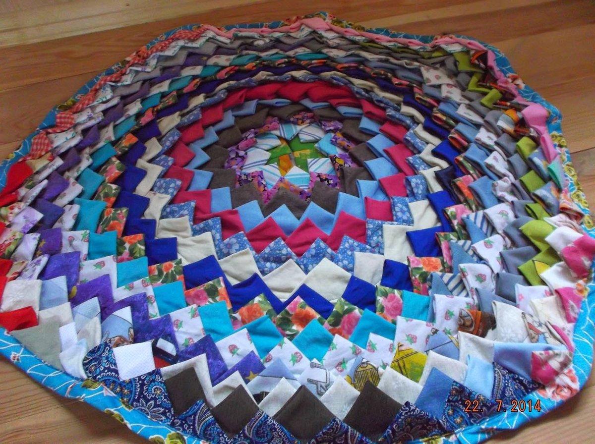 patchwork de vieux tapis