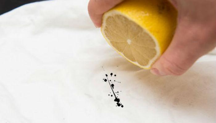 taches de citron