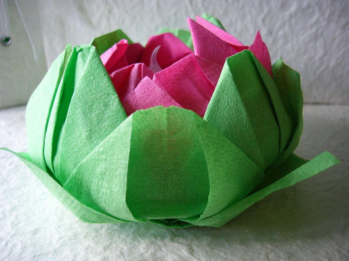lotus de serviette