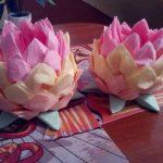 idées de décoration de serviettes de lotus