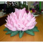 lotus de serviettes comment faire