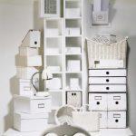 décoration inhabituelle de boîtes