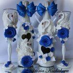 décoration de bouteilles de champagne pour un mariage photo options