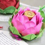 lotus de serviettes photo