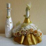 champagne dans une robe