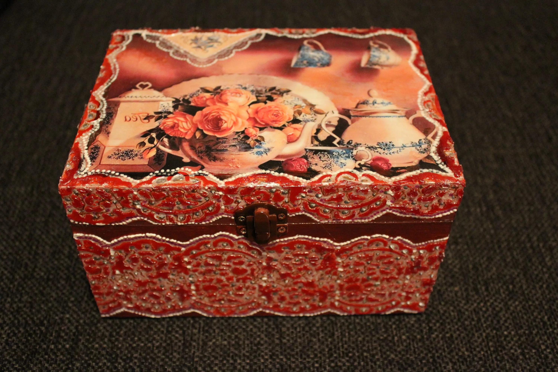 sieraden doos doe het zelf foto