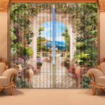 ici la conception des idées de rideaux