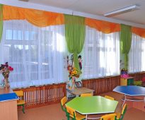 rideaux pour idées d'intérieur de jardin d'enfants