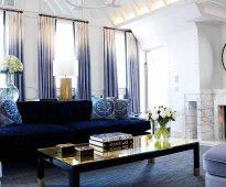 rideaux ombre gradient interieur photo