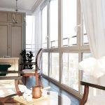 tulle pour fenêtres panoramiques idées intérieures