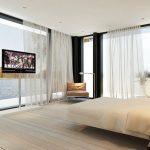 tulle pour fenêtres panoramiques idées options