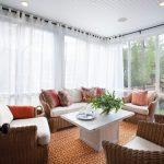 tulle pour décoration de vitres panoramiques