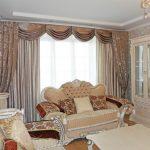rideaux sur la salle de ruban de rideau