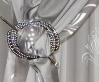 accessoires rideaux barrettes