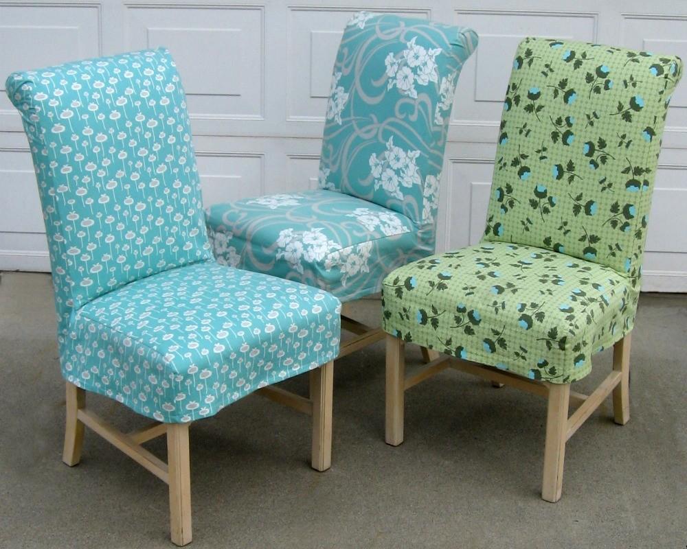 housses de chaise avec couverture arrière