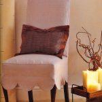 couvertures de chaise avec dos options de photo
