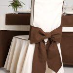 couvre-chaises avec dossier idées décor
