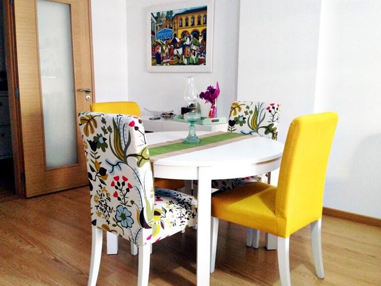 couvertures de chaise avec options d'idées de dossier