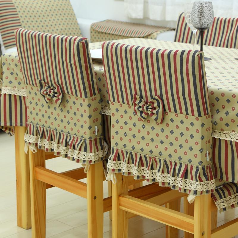 housses de chaise avec dossier en lin
